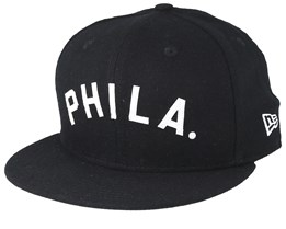 Philadelphia Phillies 9Fifty Retro Crown Black/White Snapback - New Era