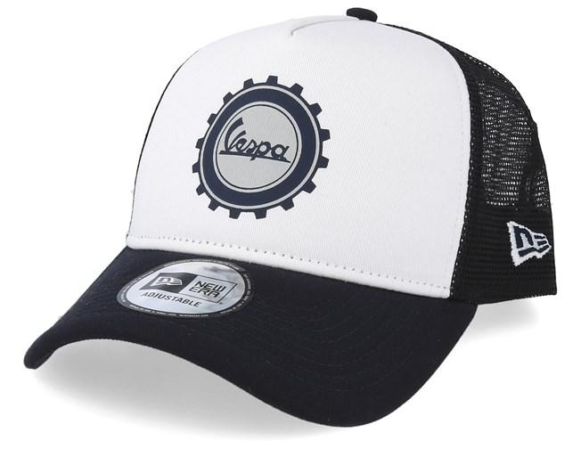5de3b23e Cog Logo Vespa Sp 19 White/Navy Trucker - New Era caps | Hatstore.co.uk