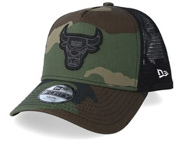 Kids Chicago Bulls Character 9Forty Camo Trucker - New Era