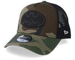 Kids Batman Character 9Forty Camo Trucker - New Era