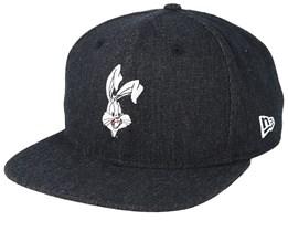 245231bcd6a Bugs Bunny Character 9Fifty Black Snapback - New Era