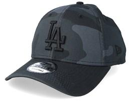 Los Angeles Dodgers Camo Essential 9Forty Black Camo/Black Adjustable - New Era