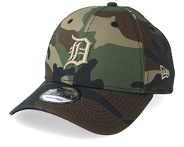 Detroit Tigers Camo Essential 9Forty Camo Adjustable - New Era
