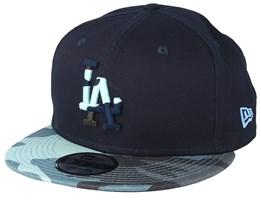 Los Angeles Dodgers Essential Black/Light Camo Snapback - New Era