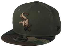 Chicago White Sox Essential Green/Camo Snapback - New Era