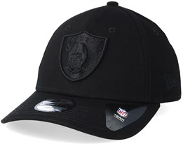 Kids Oakland Raiders 9Forty Black/Black Adjustable - New Era