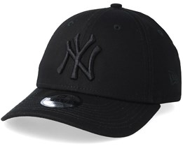 Kids New York Yankees 9Forty Black/Black Adjustable - New Era