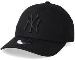 Kids New York Yankees 9Forty Black/Black Adjustable - New Era