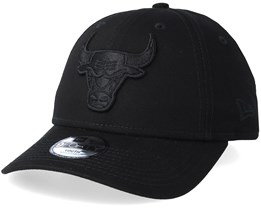 Kids Chicago Bulls 9Forty Black/Black Adjustable - New Era