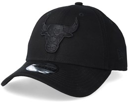 Chicago Bulls 9Forty Black/Black Adjustable - New Era