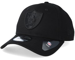 Oakland Raiders 9Forty Black/Black Adjustable - New Era