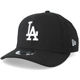 959fee261 Los Angeles Dodgers 9Fifty Stretch Snap Black/White Snapback- New Era
