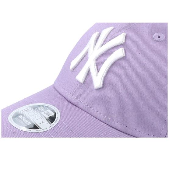 New York Yankees Women Seasonal 9forty Light Purple White