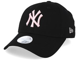 New York Yankees Women Seasonal 9Forty Black/Pink Adjustable - New Era