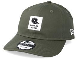 Ne Patch 9Twenty Packable Dark Green/White Adjustable - New Era