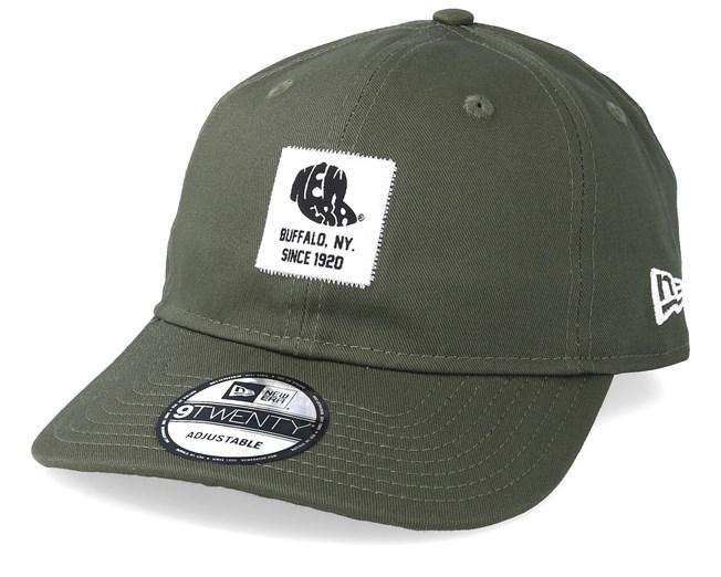 premium selection 70cc1 b5a44 Ne Patch 9Twenty Packable Dark Green White Adjustable - New Era
