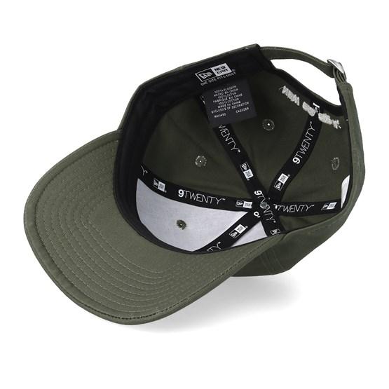 new concept e027c 275bf Ne Patch 9Twenty Packable Dark Green White Adjustable - New Era caps    Hatstore.co.uk