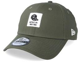 Ne Patch 9Forty Dark Green/White Adjustable - New Era
