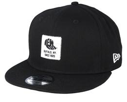 Ne Patch 9Fifty Black/White Snapback - New Era