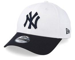 Kids New York Yankees 9Forty White/Navy Adjustable - New Era