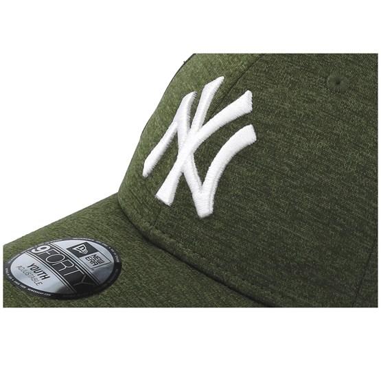 new concept dfb27 2c21c Kids New York Yankees Shadow Tech 9Forty Dark Green White Adjustable - New  Era caps - Hatstoreaustralia.com