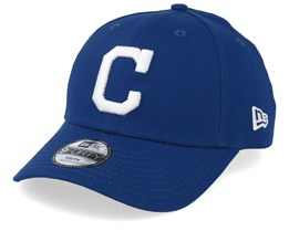Kids Cleveland Indians Seasonal 9Forty Royal/White Adjustable - New Era