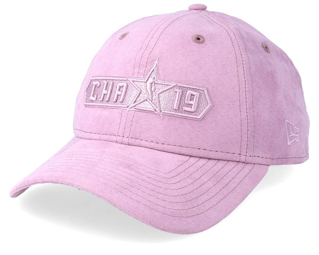 f96f56d2 NBA All Stars 9Twenty Suede Wordmark Purple Adjustable - New Era ...