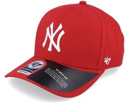New York Yankees Cold Zone Mvp DP Red/White Adjustable - 47 Brand