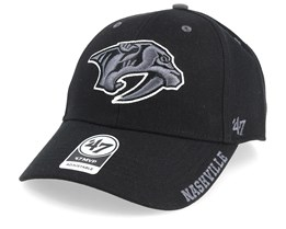 Nashville Predators Defrost 47 Mvp Wool Black Adjustable - 47 Brand