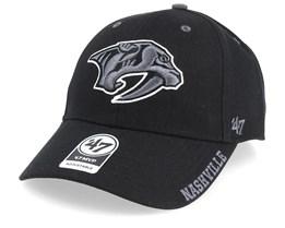 Nashville Predators Defrost 47 Mvp Wool Black Adjustable - 47 Brand
