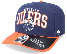 Edmonton Oilers McCaw Mvp DP Light Navy/Orange Adjustable - 47 Brand