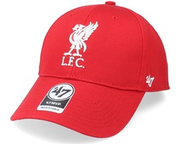 Liverpool FC Raised Basic Mvp Red Adjustable - 47 Brand