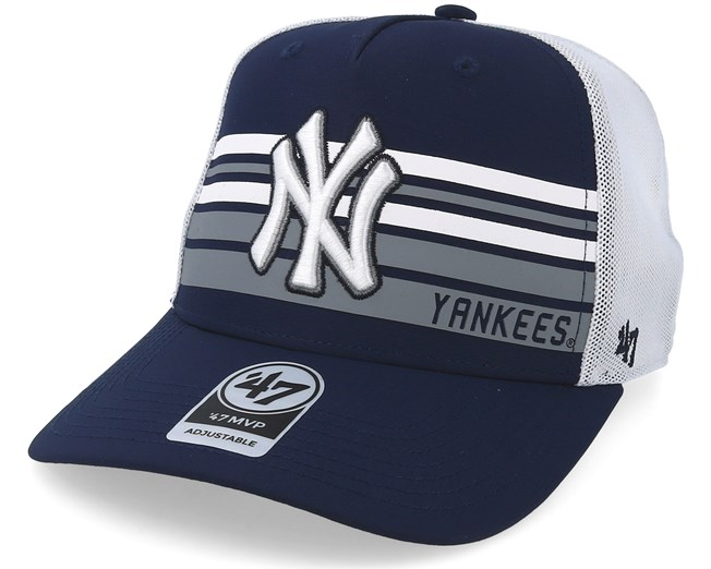 193dd96c3cfb0 New York Yankees Altitude 47 Mvp Navy White Trucker - 47 Brand caps -  Hatstoreworld.com