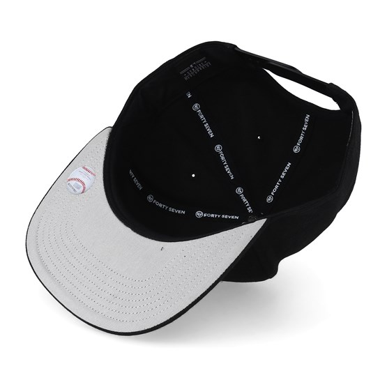 New York Yankees Iridescent 47 Captain Black Snapback - 47 Brand keps -  Hatstore.se eb954b0c4ec6