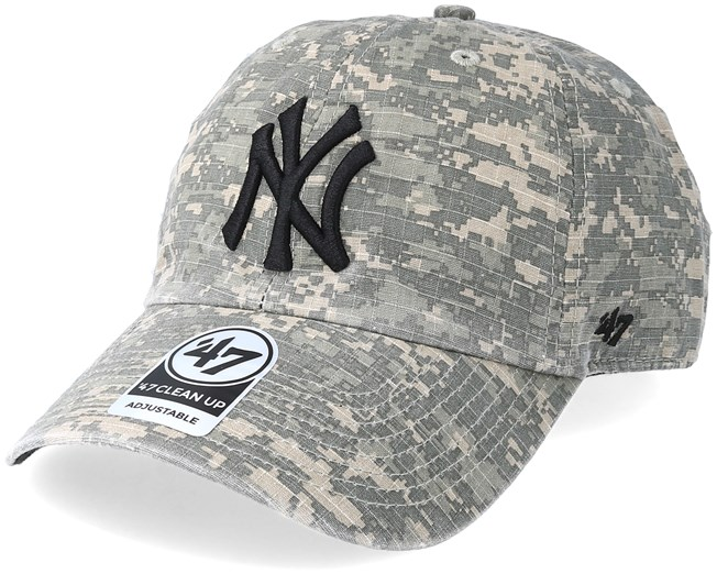 0e7ab47418b New York Yankees Phalanx 47 Clean Up Digital Camo Adjustable - 47 Brand caps