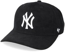 on sale 0b774 51b2c New York Yankees Ultrabasic Strap TT Black White Adjustable - 47 Brand