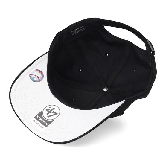 760f67f7a New York Yankees Ultrabasic Strap TT Black/White Adjustable - 47 Brand