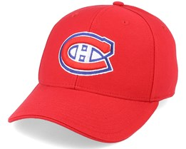 Montreal Canadiens Core Structured Red Adjustable - Fanatics