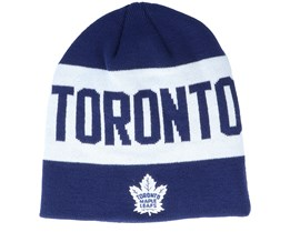 Toronto Maple Leafs 19 Navy/White Beanie - Adidas