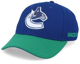 Vancouver Canucks Coach Blue/Green Flexfit - Adidas