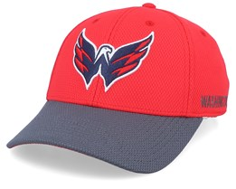 Washington Capitals Coach Red/Grey Flexfit - Adidas