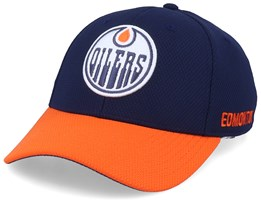 Edmonton Oilers Coach Navy/Orange Flexfit - Adidas