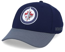 Winnipeg Jets Coach Navy/Grey Flexfit - Adidas