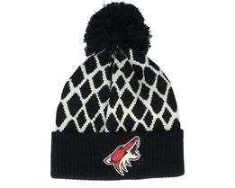 Arizona Coyotes Culture Cuffed Knit Black Knit - Adidas