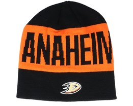 Anaheim Ducks 19 Black/Orange Beanie - Adidas