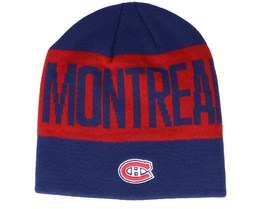 Montreal Canadiens 19 Navy/Red Beanie - Adidas