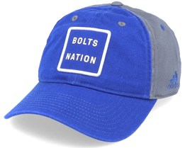 Tampa Bay Lightning Cotton Slouch Blue/Grey Adjustable - Adidas