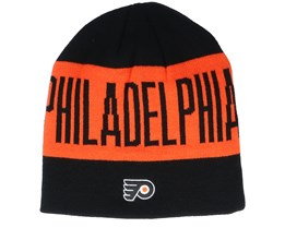 Philadelphia Flyers 19 Black/Orange Beanie - Adidas