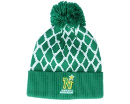 Minnesota North Stars Culture Cuffed Knit Green Pom - Adidas