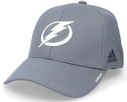 Tampa Bay Lightning Coach Structured Grey Flexfit - Adidas